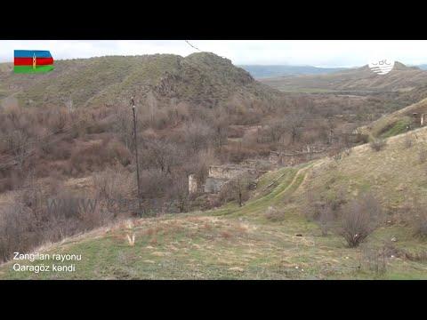 Видеокадры из села Гарагез Зангиланского района