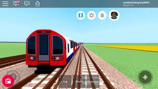 Roblox Mind the Gap 1992 Central Line Downing Spuare & Alderbrook