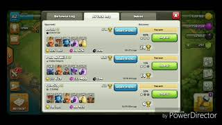 Clash of clans Ballonian 3 star attack Easy trophy