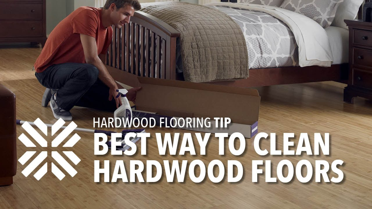 How To Clean Hardwood And Laminate Floors   YouTube
