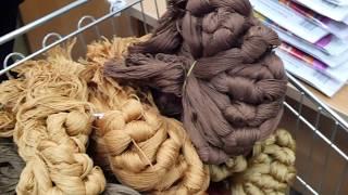 """#5 Как делаются вышивки  """"Золотого руно""""? Почему нитки для вышивания 60 см/русская Снегурочка"""
