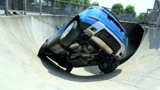 Range Rover Evoque Skate Park Stunt – Extreme Driving Challenge