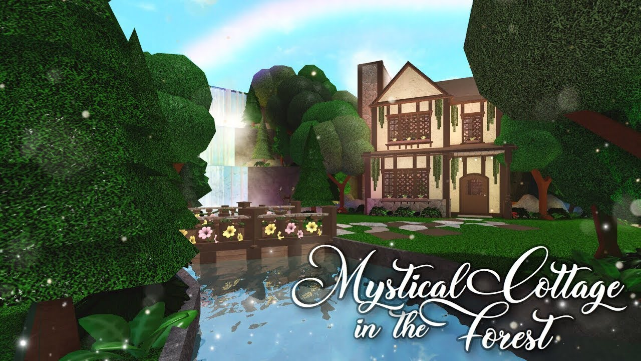 Bloxburg Mystical Cottage In The Forest Youtube