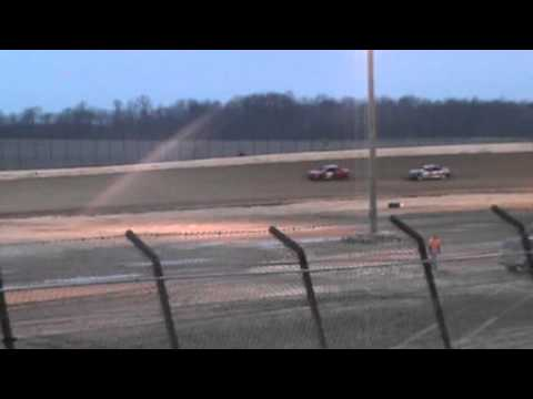 Hornet Heat 2 at Clay County Speedway 3-30-13
