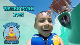 Gambar cover WATER PARK FUN with DEION & DOMINICK | Wayland's Water World