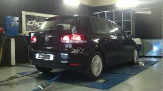 * Reprogrammation Moteur * VW Golf 6 1.6 tdi 105cv @ 146cv Dyno Digiservices Paris