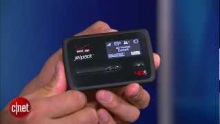 First Look: Verizon Jetpack 4G LTE Mobile Hotspot MiFi 4620L