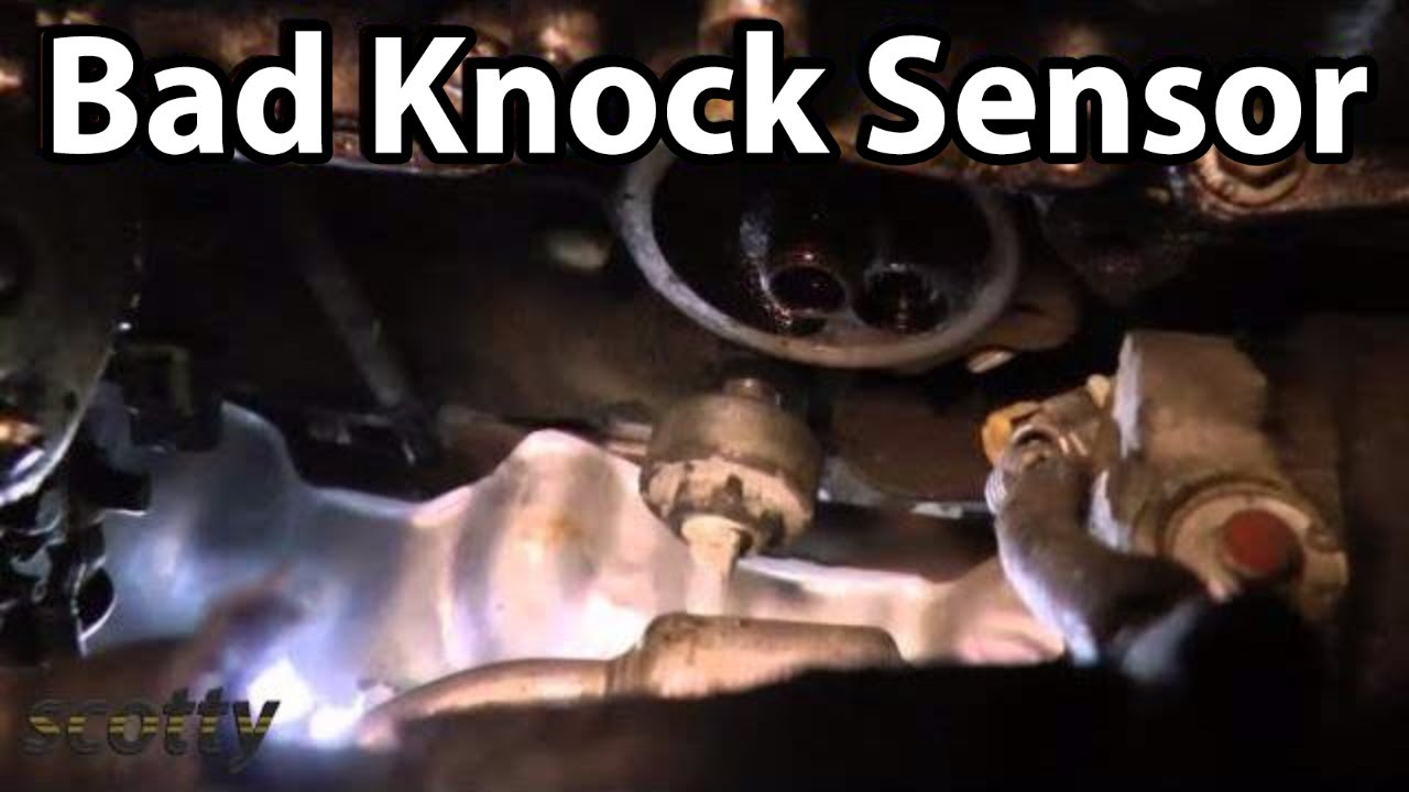 hight resolution of replacing a bad knock sensor