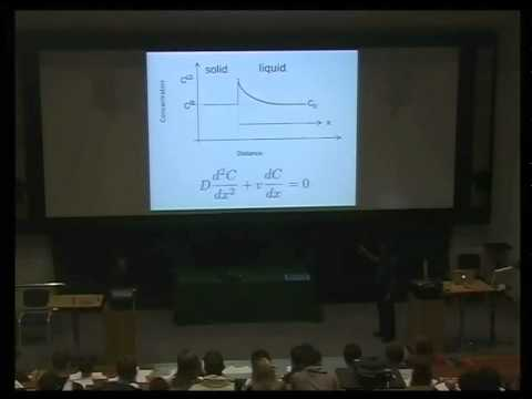 Metals and Alloys, lecture 3, Solidification