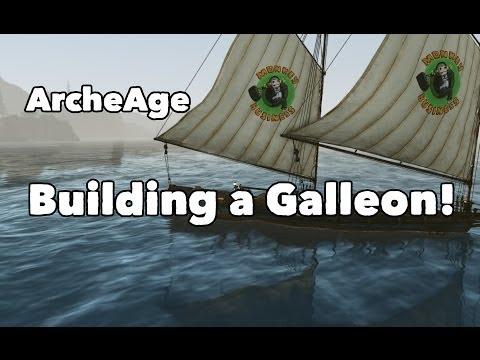 ArcheAge Antics - Building the Galleon