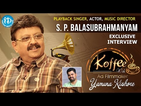S P Balasubrahmanyam Exclusive Interview    Koffee With Yamuna Kishore #2    #300