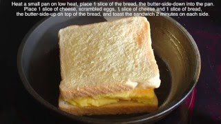 Scrambled Egg Sandwich Recipe thumbnail
