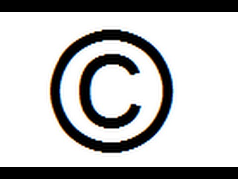 how to make copyright Symbol on notepad - YouTube