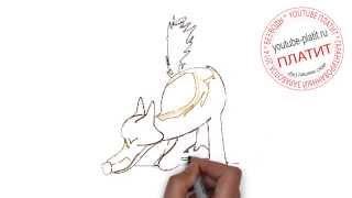 Рисуем собаку видео карандашом  Как нарисовать собаку для детей(Как нарисовать собаку карандашом поэтапно знает каждый человек на планете Земля. А вот как правильно рисов..., 2014-08-09T04:43:14.000Z)