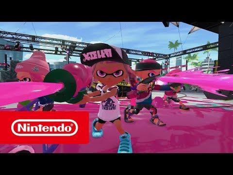 Splatoon 2 - Tráiler de lanzamiento (Nintendo Switch)