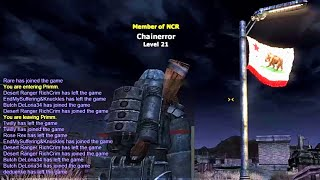 (NCR) Patrolling I-15 In Fallout New Vegas Multiplayer