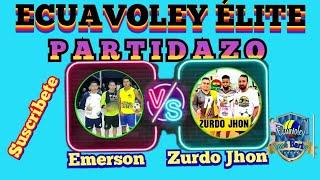 EMERSON VS EL ZURDO JHON ECUAVOLEY JOSE BARBA