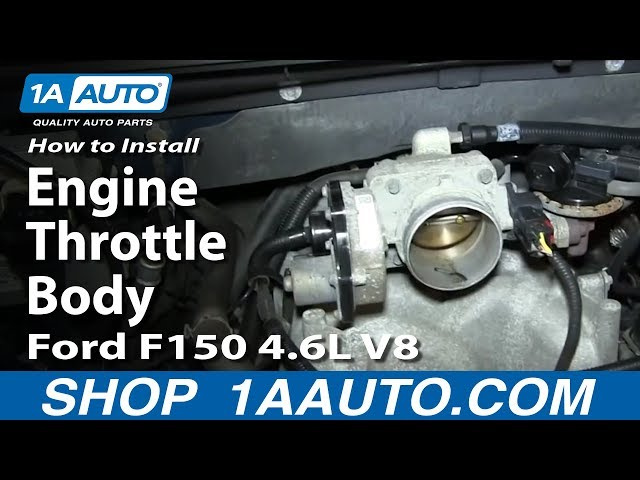 How To Replace Engine Throttle Body 05-06 Ford F150 4 6L V8