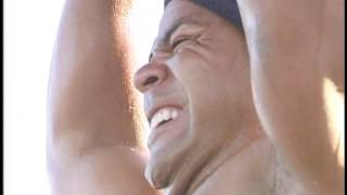 Junior Seau's Workouts - 2003 - Jill Martin on CBS 4, WFOR-TV
