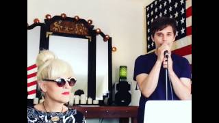 [CC] Andy Mientus & Our lady J: #tbt Spring is coming
