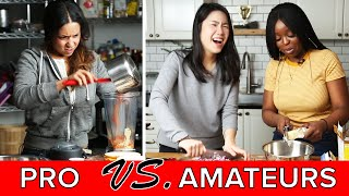 Amateur Vs. Professional Chef: Mac