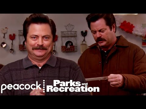 Ron Swanson: The Riddle Master - Parks and Recreation