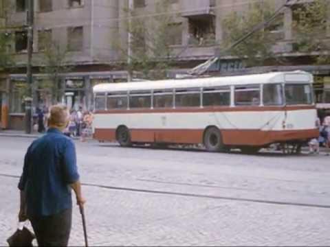 Public Transport in Bucharest in 1984
