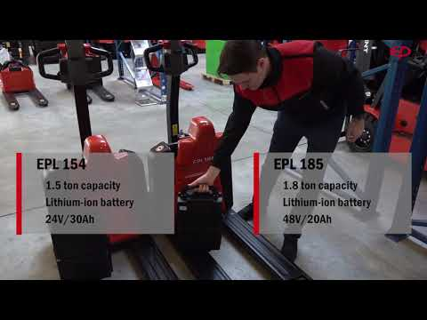 EPL 154 / 185 Li-Ion Electric Pallet Truck - The Next Generation