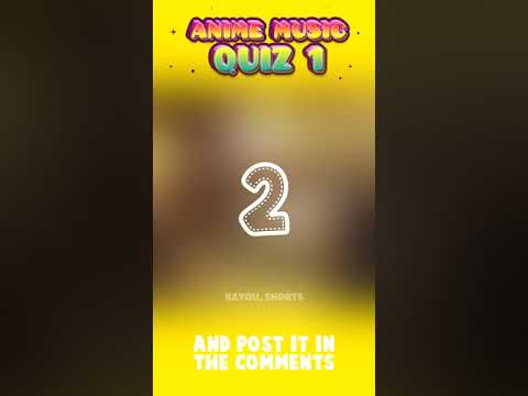 Guess The Anime   Anime Music Quiz Challenge #Shorts