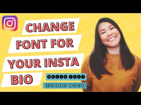 How to change font style in Instagram bio without an app (2018)