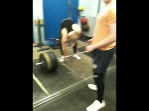 Eddie Deadlift 190kg