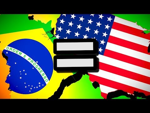 Brazil = United States (Equal Superpowers) | Hearts of Iron 4 [HOI4]