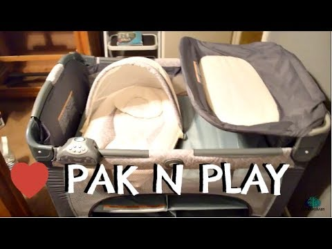 Graco Pack N Play with Newborn Napper DLX | 20 and Pregnant | First Pregnancy