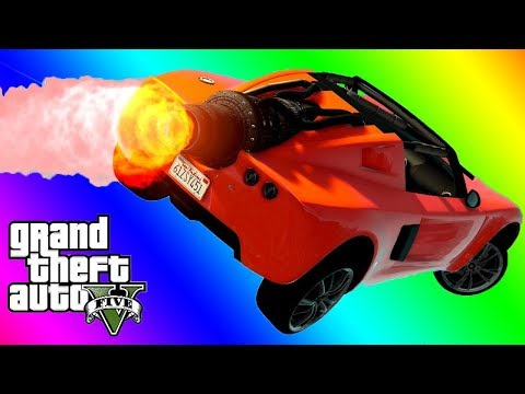 VanossGaming GTA 5 Online Funny Moments   The Off Season Runback Overtime Rumble Game Mode |