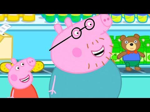 Peppa Pig Italiano 🧸 Teddy Cuoredoro 🧸 Collezione Italiano - Cartoni Animati
