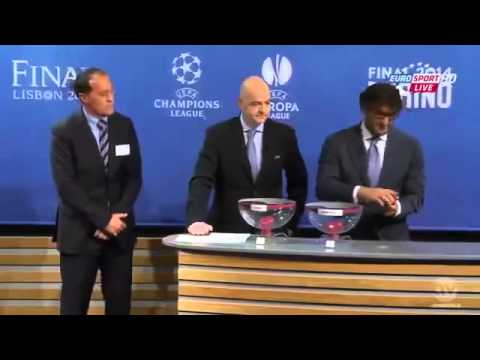 Europa League Draw of the Semi Finals 1 2 Finals 2013 2014 HD