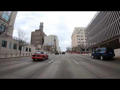 Driving Tour 4K, Omaha/Council Bluffs Metro, through along HWY 6, Omaha, NE/Council Bluffs,Iowa,USA