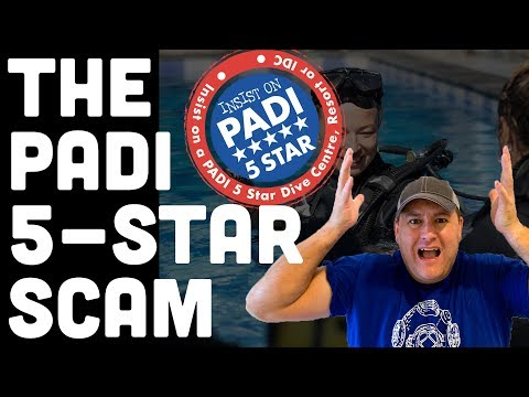 The PADI ⭐️⭐️⭐️⭐️⭐️ Scam ➕10 Ways A Good Dive Center Is REALLY 5 Stars!