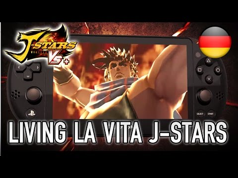 J-Stars Victory VS+ - PS Vita/PS4/PS3 - Living La Vita J-Stars (German Trailer)