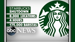 Starbucks stores closed nationwide for racial-bias training