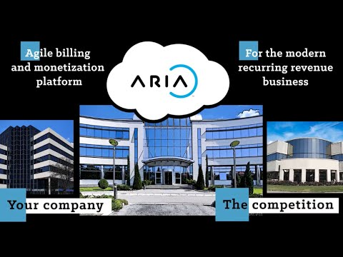 Aria Systems - The Agile Monetization Platform for the Modern Recurring Revenue Business