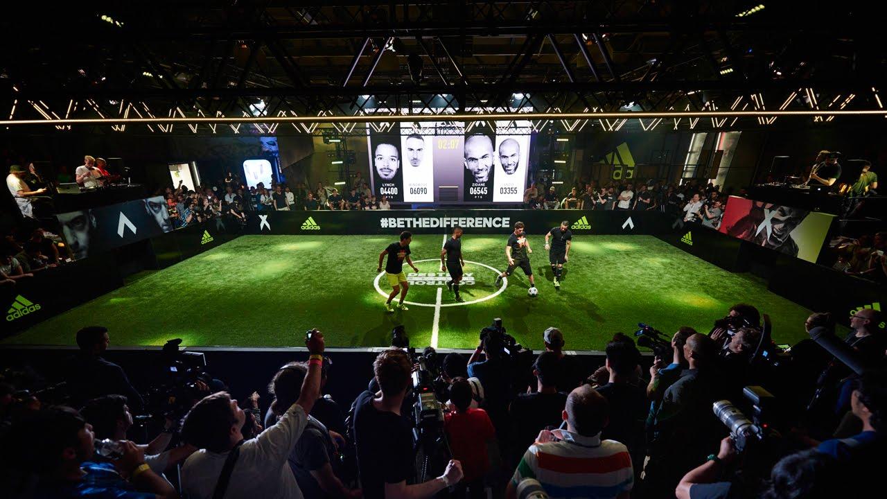 estas crecimiento Tan rápido como un flash  adidas Ace, X and Messi Launch at The Base, Berlin With Zinedine ...