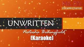 [KARAOKE] Unwritten - Natasha Bedingfield