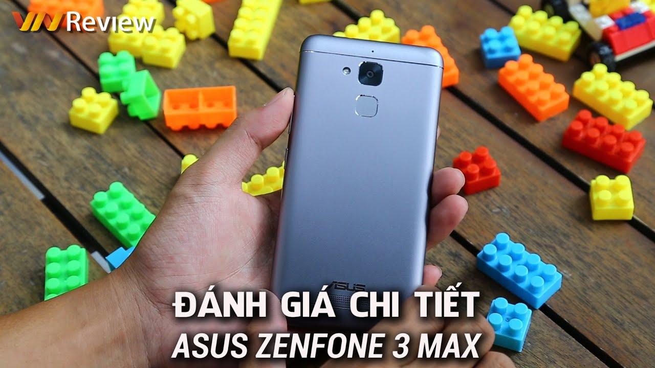 VnReview - Đánh giá chi tiết Asus ZenFone 3 Max: Thiết kế mới,  pin không \