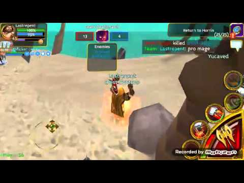 Arcane Legends Pro Mage And Lastrepent Vs Cry 2v2 Tdm Blood Beach