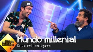 Un millenial pone a prueba a Carmen Machi y Paco Tous - El Hormiguero 3.0