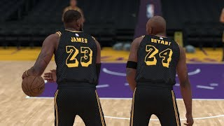Kobe Bryant Comes Out Of Retirement To Team Up With Lebron James In LA! NBA 2K18 Challenge!