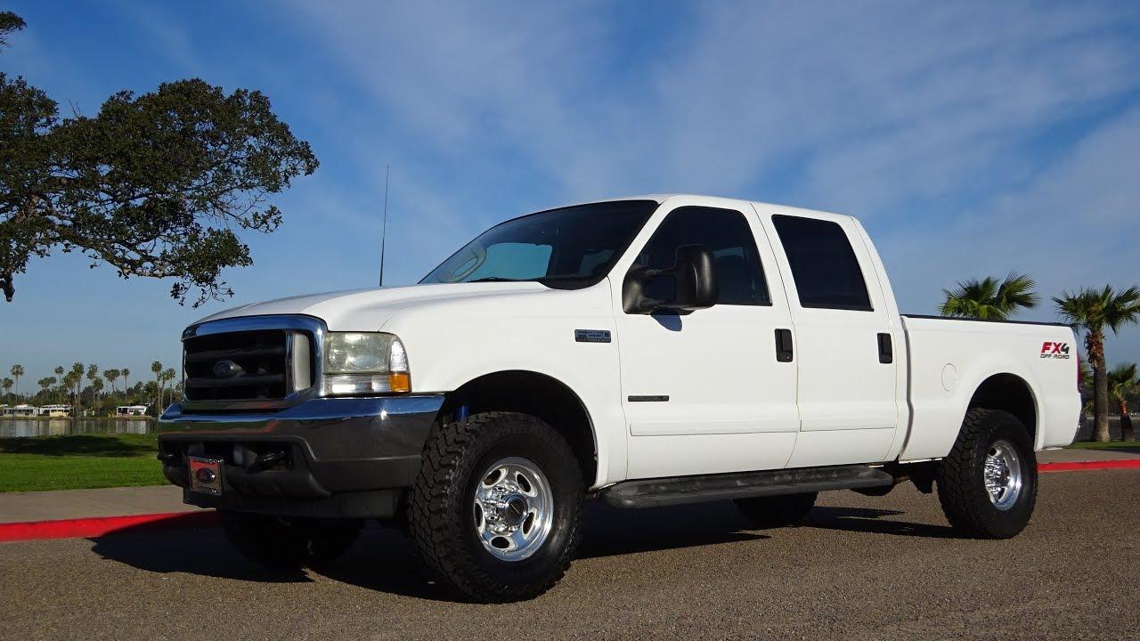 For sale 2003 ford f 250 xlt 7 3 l diesel 4x4 2 owner california stocktruck