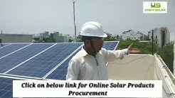 ON Grid Solar power project in Delhi by UNIFY SOLAR