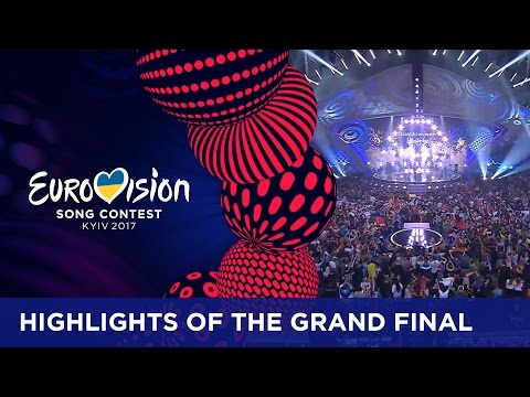 Highlights of the Grand Final of the 2017 Eurovision Song Contest